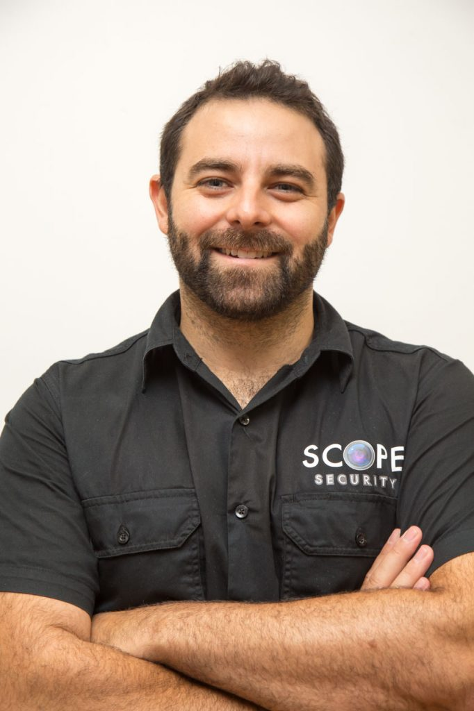 Tom from Scope Security Pty Ltd mobile locksmith